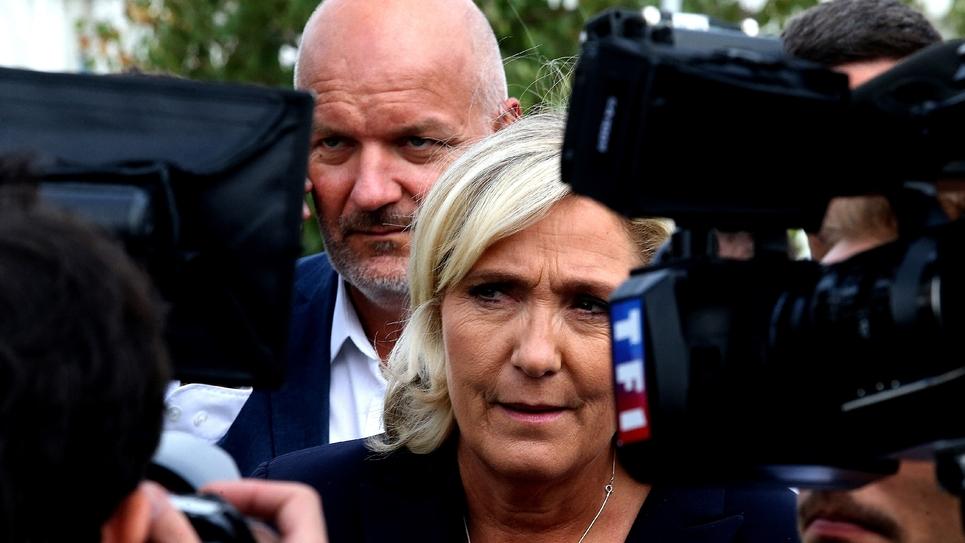 Marine Le Pen le 7 septembre 2018 à Châlons-en-Champagne