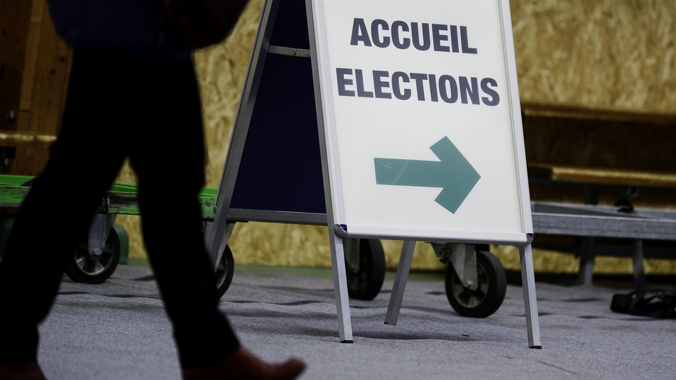 France Coronavirus Elections municipales 15th of march 2020