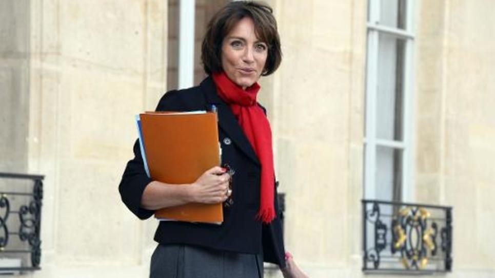 La ministre de la Santé Marisol Touraine quitte le palais de l'Elysée, à Paris, le 29 octobre 2014