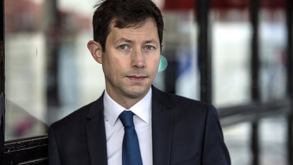 François-Xavier Bellamy, le 28 janvier 2019 à Paris