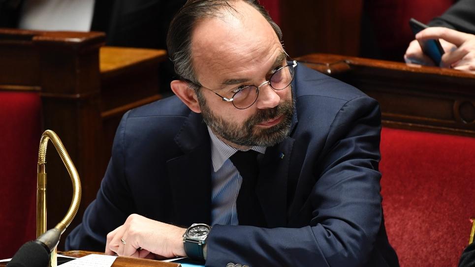 Le Premier ministre Edouard Philippe à l'Assemblée nationale à Paris le 5 février 2019