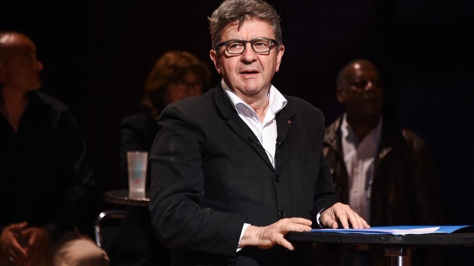 Le leader de la France Insoumise (LFI) Jean-Luc Melenchon, à Toulouse, le 21 mai 2019
