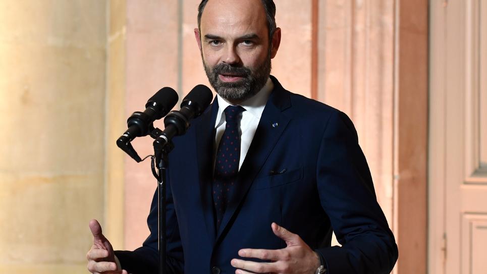 Le Premier ministre Édouard Philippe le 18 janvier 2019 à Paris