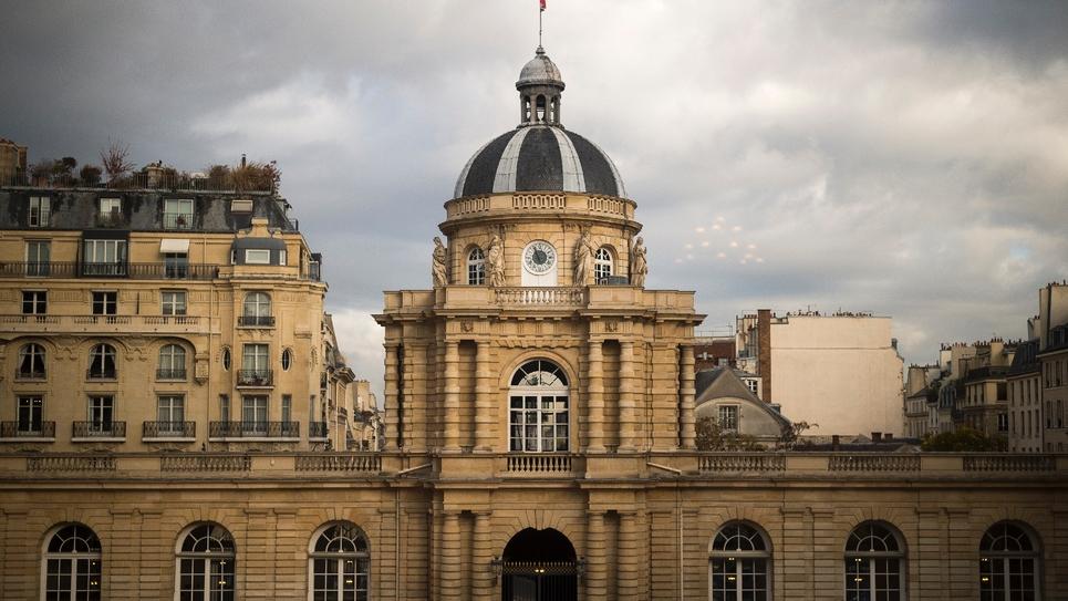 Le Palais du Luxembourg qui abrite le Sénat, à Paris 8 novembre 2016