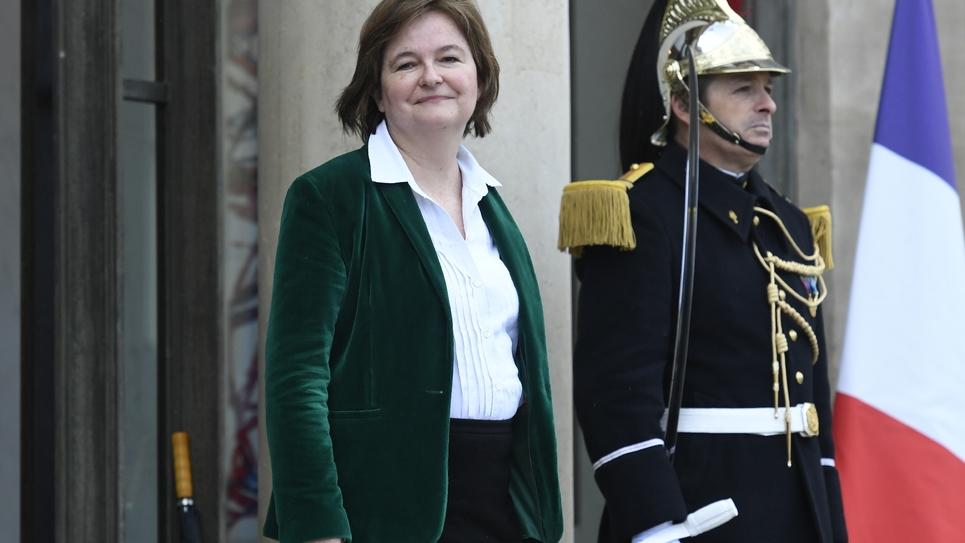 Nathalie Loiseau à l'Elysée, le 11 mars 2019