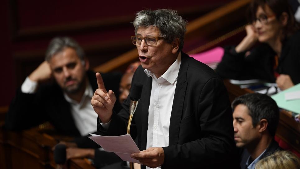 Eric Coquerel (LFI) à l'Assemblée nationale le 27 novembre 2018