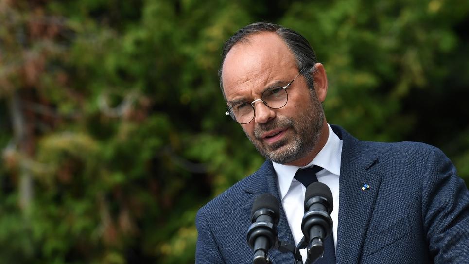 Edouard Philippe aux Assises de l'Eau à Chaillol, dans les Hautes-Alpes, le 29 août 2018