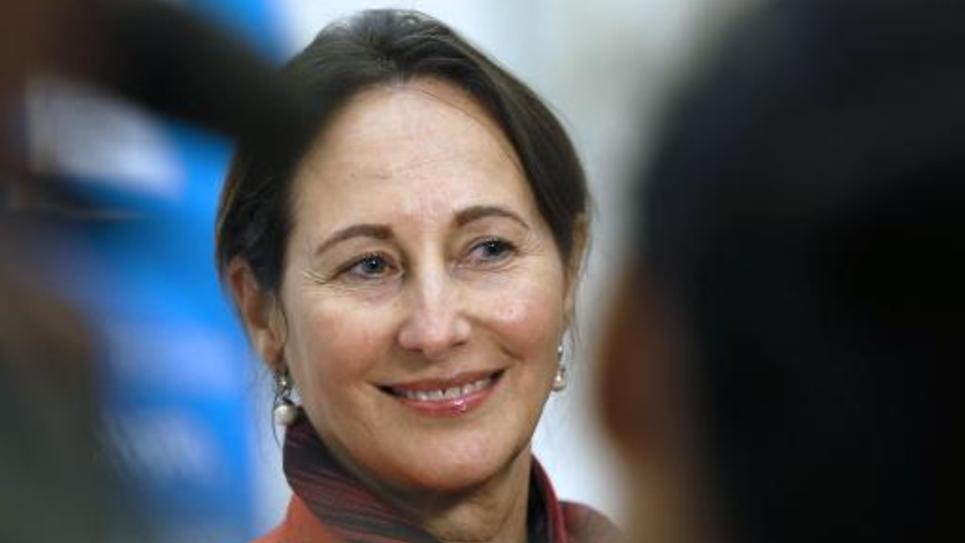 La ministre de l'Ecologie Ségolène Royal, le 9 octobre 2014 à Paris