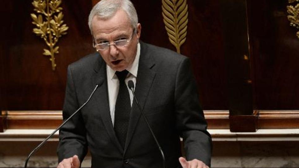 Le député UMP Jean Leonetti à l'Assemblée nationale le 21 janvier 2015