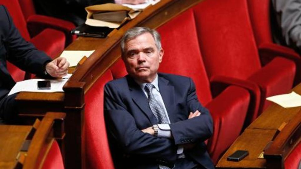 L'ancien président de l'Assemblée nationale, Bernard Accoyer, le 21 mai 2014 à l'Assemblée à Paris