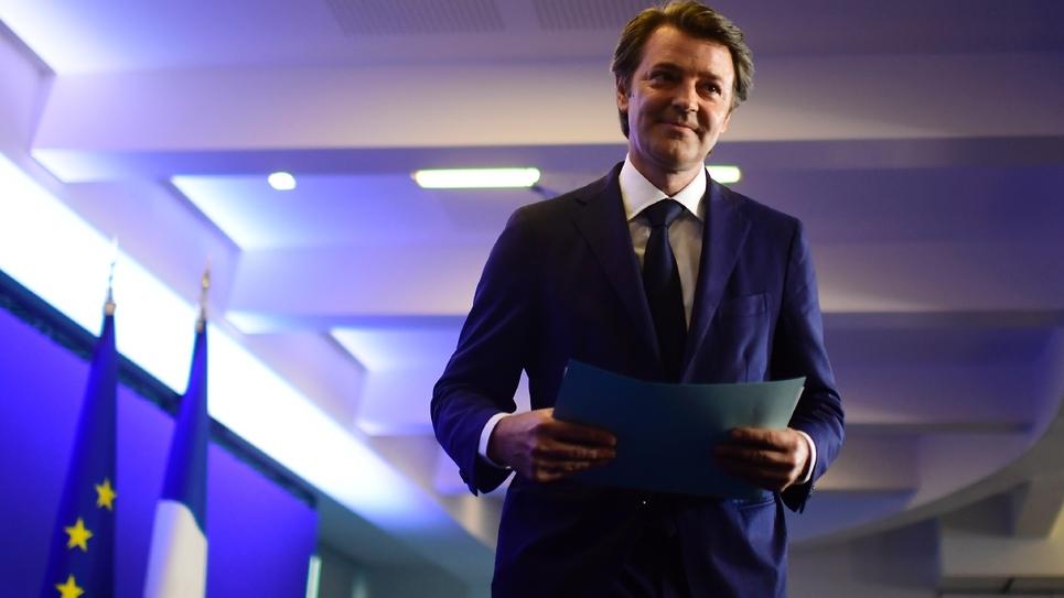 François Baroin (LR), le président de l'Association des maires de France (AMF), le 18 juin 2017 à Paris