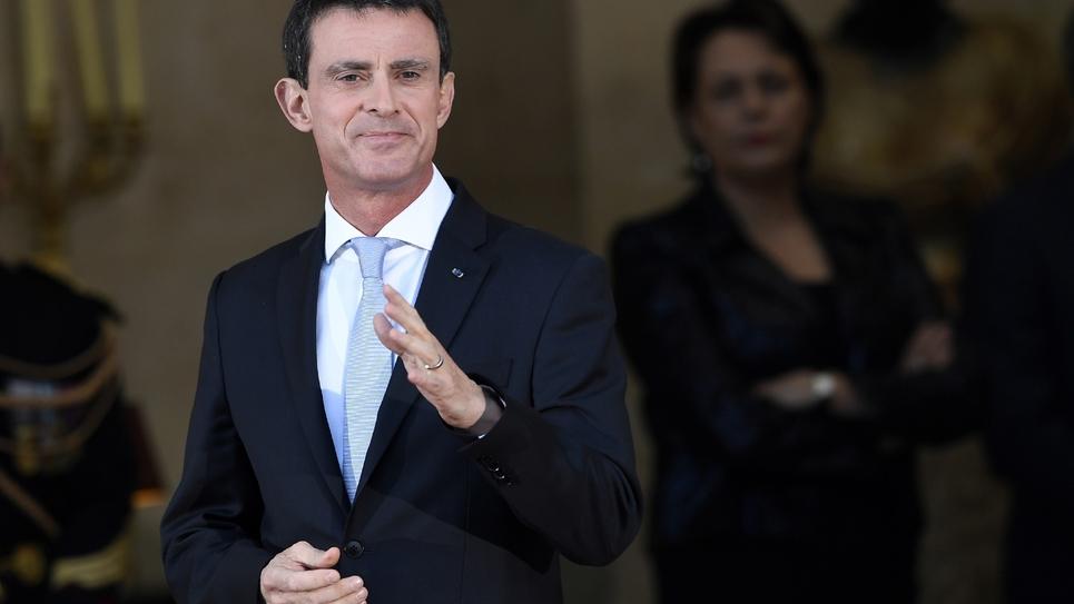L'ex-Premier ministre Manuel Valls, le 6 décembre 2016 à l'Hôtel Matignon à Paris