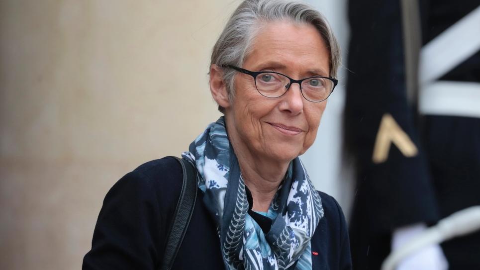 La ministre des Transports Elisabeth Borne à l'Elysée, le 6 mars 2019