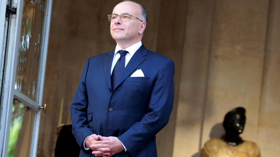 L'ancien Premier ministre et ancien ministre de l'Intérieur Bernard Cazeneuve, le 15 mai 2017 à l'hôtel Matignon, à Paris