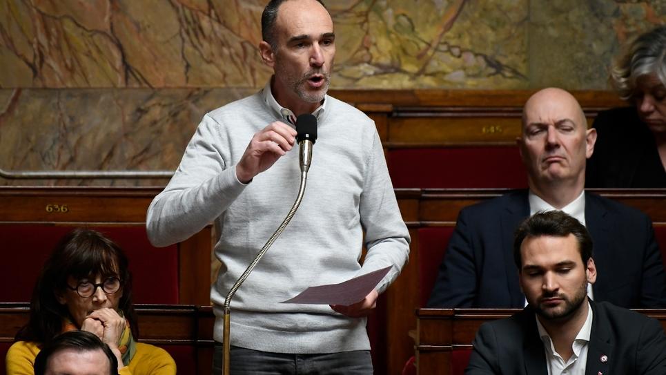 Loïc Prud'homme député LFI à l'Assemblée nationale le 18 décembre 2018