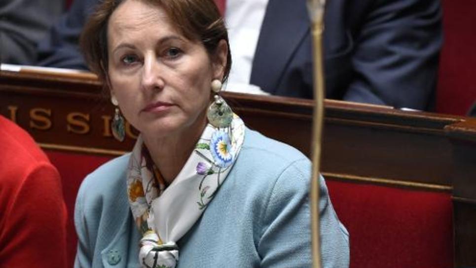 La ministre de l'écologie Ségolène Royal à l'Assemblée nationale le 7 avril 2015