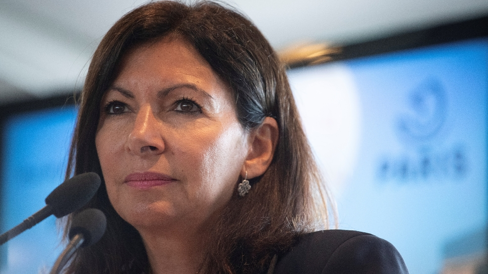 Anne Hidalgo, le 17 septembre 2019 à Paris