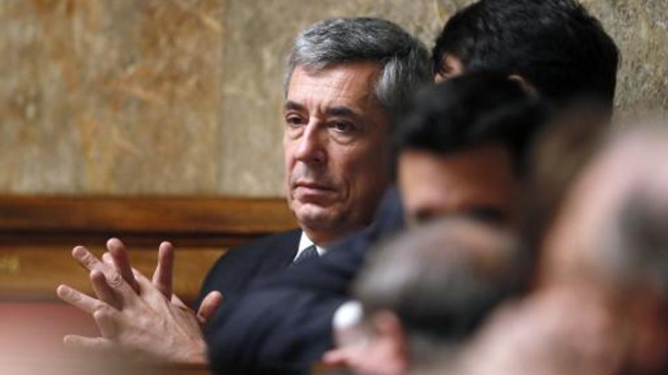 Henri Guaino, député des Yvelines et ex-conseiller de Nicolas Sarkozy, à l'Assemblée nationale le 5 février 2014