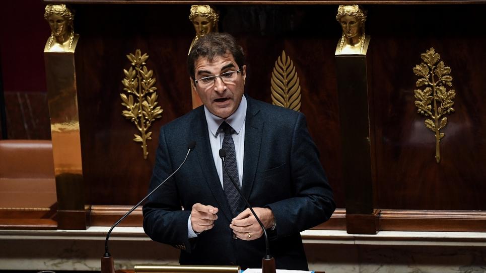 Le président des députés Les Républicains Christian Jacob à l'Assemblée nationale à Paris, le 5 décembre 2018