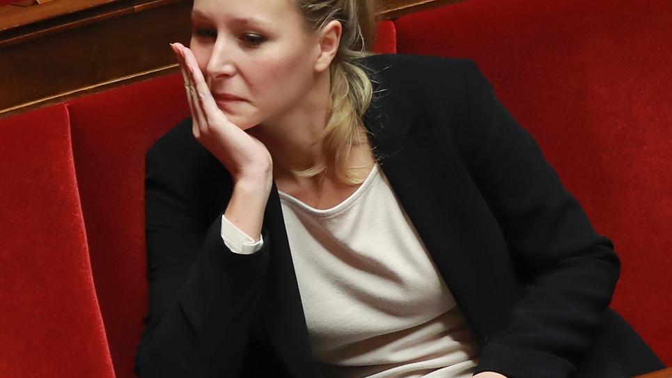 Marion Maréchal-Le Pen, députée du FN, à l'Assemblée nationale le 1er décembre 2016