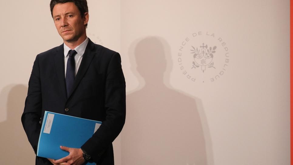 Le porte-parole du gouvernement Benjamin Griveaux à l'Elysée, le 30 janvier 2019