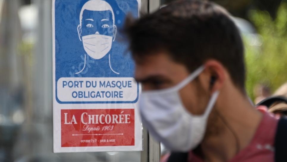 """La liste des lieux où le masque est obligatoire a été allongée à cause de """"signes inquiétants"""" de reprise de l'épidémie"""