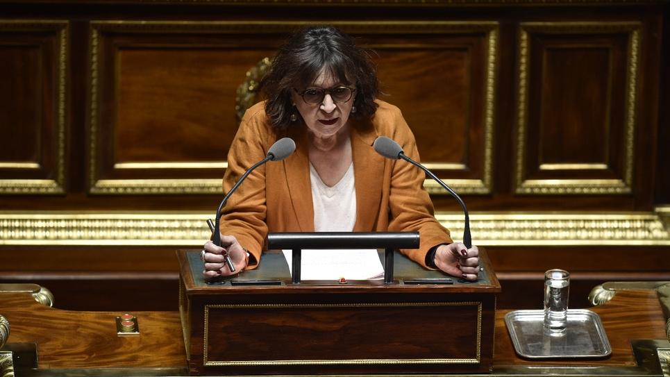 Eliane Assassi en 2016 au Sénat