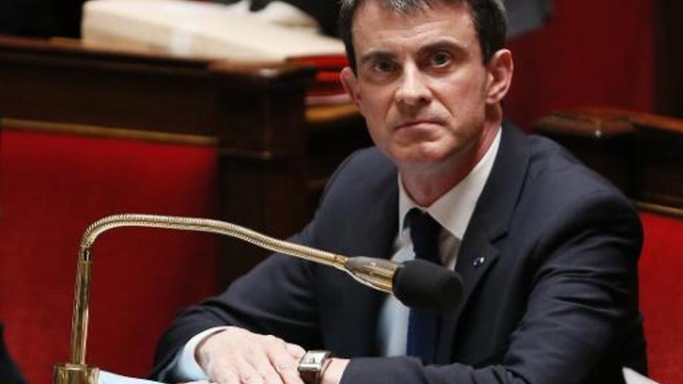 Le Premier ministre Manuel Valls lors des questions au gouvernement à l'Assemblée nationale, le 17 février 2015