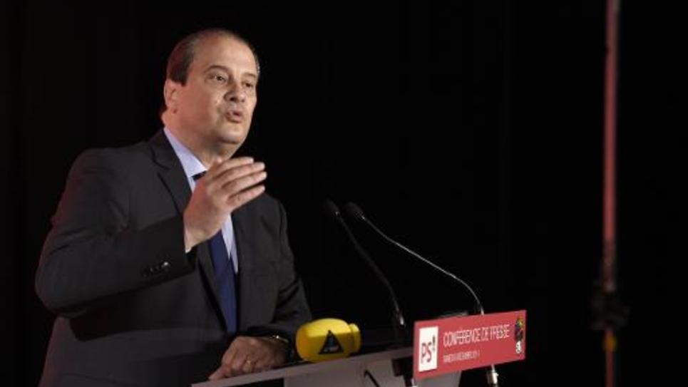 Jean-Christophe Cambadélis, premier secrétaire du PS, le 6 décembre 2014 à Paris