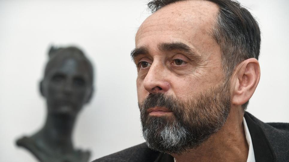 Le maire de Béziers, Robert Ménard le 9 mars 2018 à Béziers