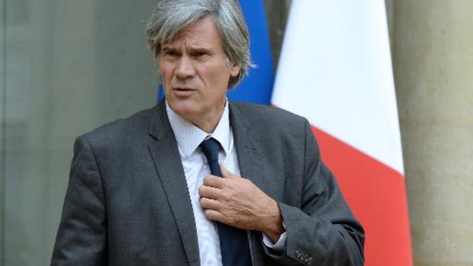Stéphane Le Foll à l'issue du Conseil des ministres le 27 août 2014 à l'Elysée à Paris