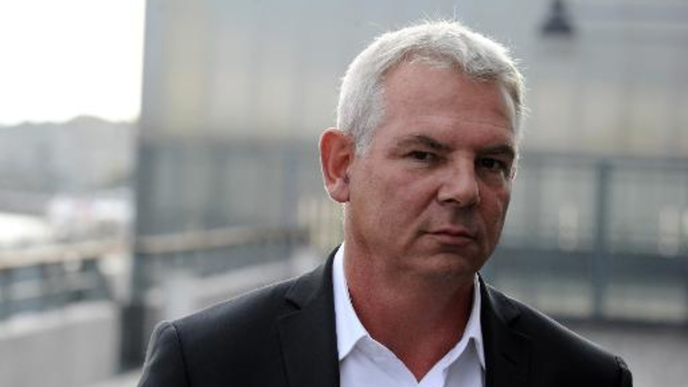 Thierry Lepaon, secrétaire général de la CGT, le 9 octobre 2014 à Bordeaux