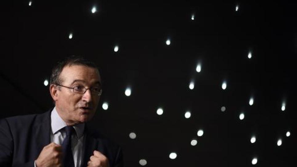Le député Hervé Mariton, le 29 novembre 2014 à Paris