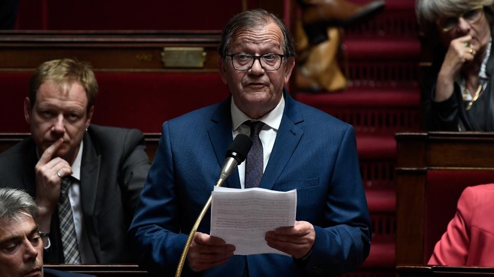 Le député Alain Bruneel le 22 mai 2019 à l'Assemblée Nationale