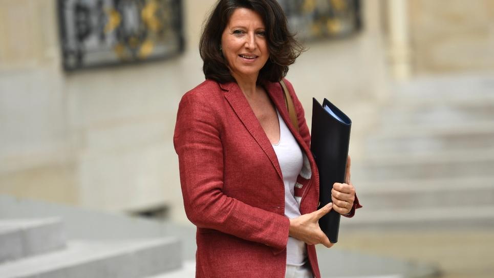 Agnès Buzyn à l'Elysée le 9 août 2017