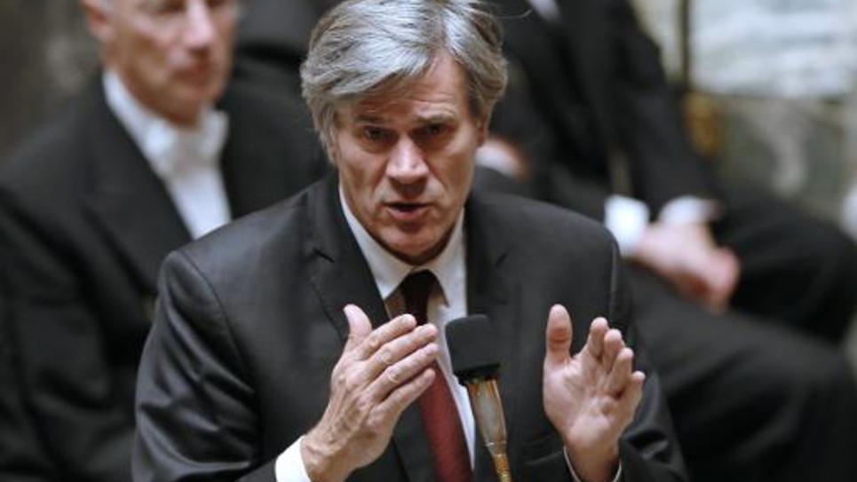 Le porte-parole du gouvernement Stéphane Le Foll à l'Assemblée nationale, le 10 décembre 2014 à Paris