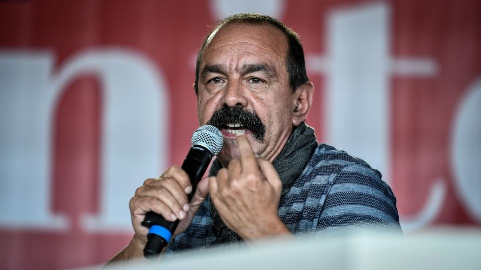 Le secrétaire général de la CGT, Philippe Martinez, à la Fête de l'Humanité, à La Courneuve, le 14 septembre 2019
