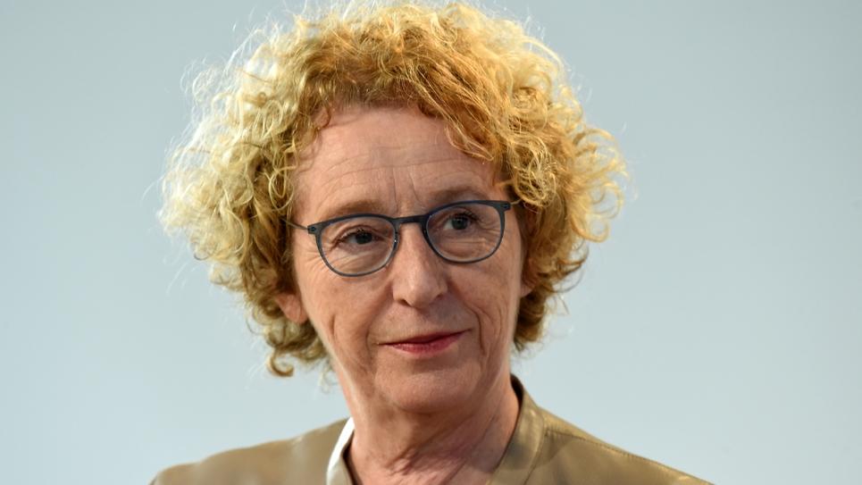 La ministre du Travail Muriel Pénicaud, lors d'une conférence à Paris le 15 octobre 2019