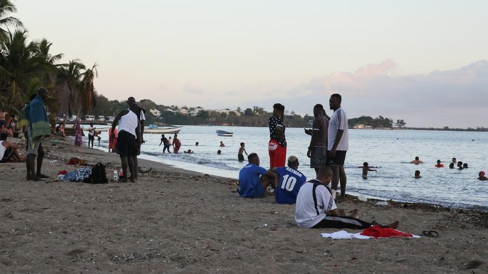 Une plage de Mayotte, le 29 septembre 2019