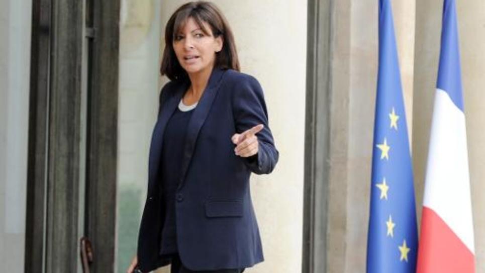 La maire de Paris Anne Hidalgo à l'Elysée le 11 septembre 2014