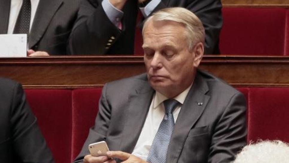 Jean-Marc Ayrault à l'Assemblée nationale, le 1er juillet 2014