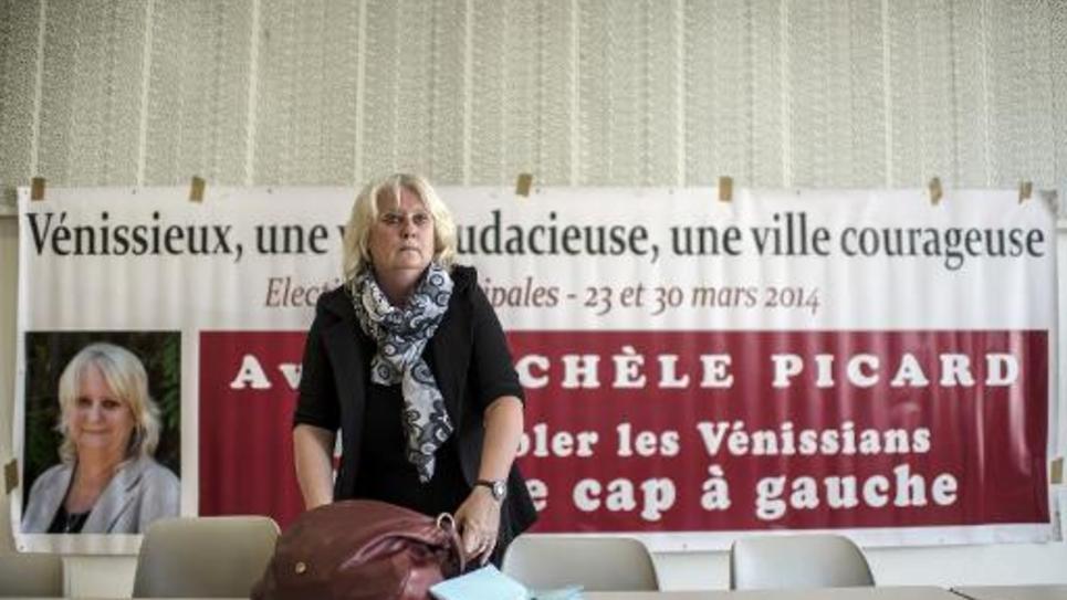 Michèle Picard le 19 mars 2014 à Vénissieux