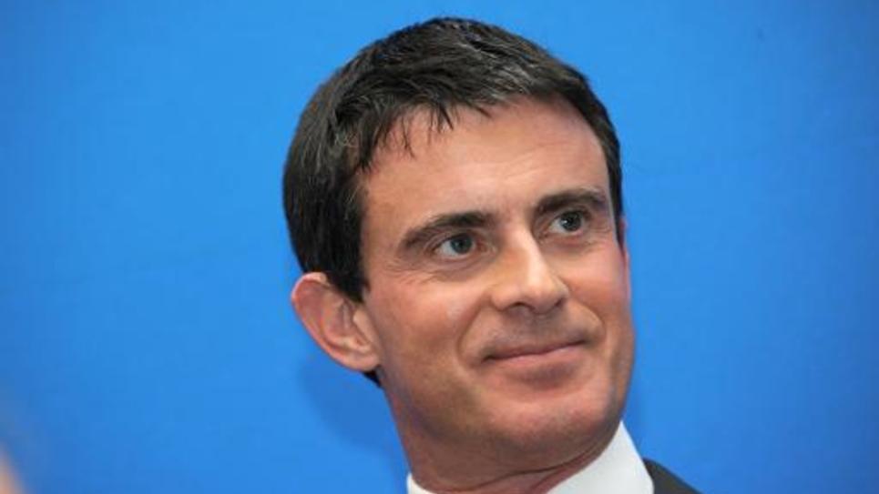 Le Premier ministre Manuel Valls lors d'une conférence de presse le 4 décembre 2014 à Paris