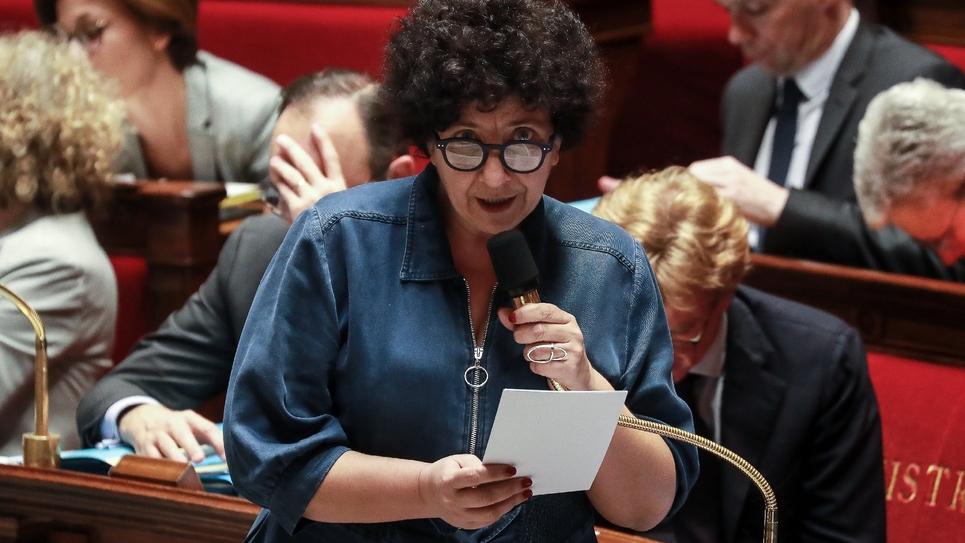 Frédérique Vidal, ministre de l'Enseignement supérieur, de la recherche et de l'innovation, à l'Assemblée nationale, le 25 février 2020 à Paris