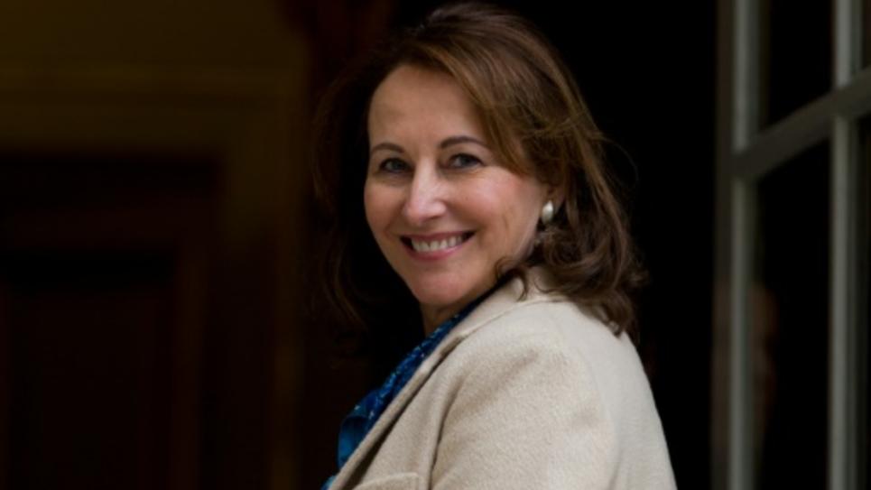 La ministre de l'Environnement Ségolène Royal à l'Hôtel Matignon à Paris le 18 février 2016