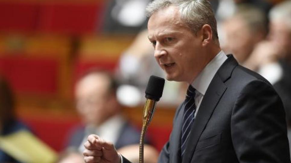 Bruno Le Maire le 12 mai 2015 à l'Assemblée nationale à Paris