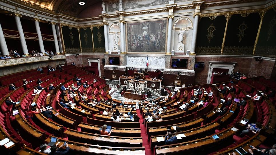 L'Assemblée nationale le 3 juillet 2019