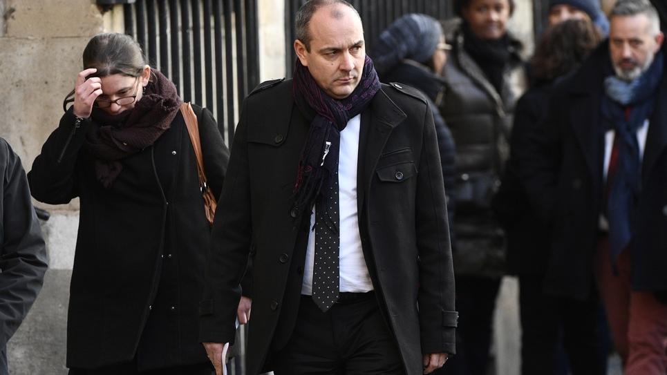 Laurent Berger le 5 janvier 2007 à Paris