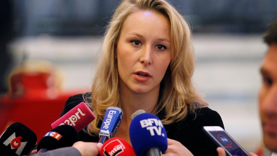 Marion Maréchal-Le Pen à Paris, le 29 avril 2017