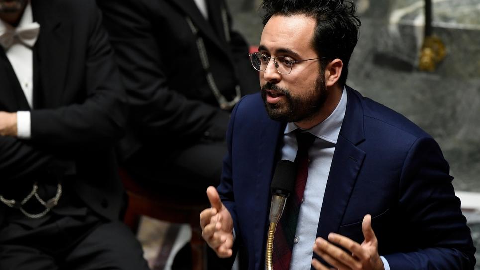 Le secrétaire d'Etat chargé du numérique Mounir Mahjoubi à l'Assemblée nationale, le 18 décembre 2018
